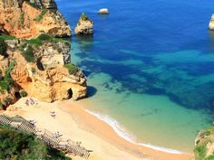 Places In Europe To Visit - Lounge on the stunning beaches of Lagos, Portugal.  Read more: http://www.businessinsider.com/places-in-europe-to-visit-2014-6?op=1#ixzz38tZx3kIQ