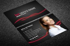 Realtor Business Cards, Business Cards Online, Real Estate Business Cards, Free Business Card Templates, Business Card Design, Templates Free, Keller Williams Business Cards, Office Names, Letter Board