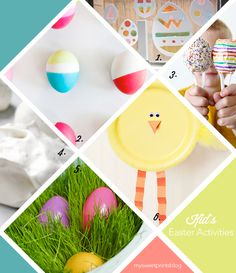 My Sweet Prints: 6 Easter Crafts and Activities for Kids