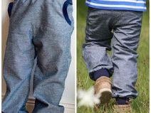 Pumphose Jeans, Jeansblau