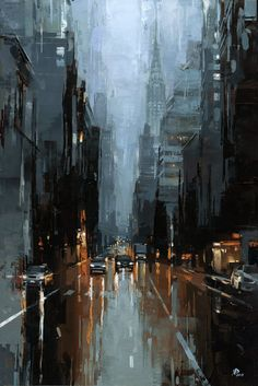 architecture art painting Victor Bauer Gallery of Original Fine Art Building Painting, City Painting, Oil Painting Abstract, Watercolor Art, New York Painting, Skyline Painting, Urban Painting, Lake Painting, Art Picasso
