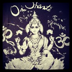 Om Shanti is peace