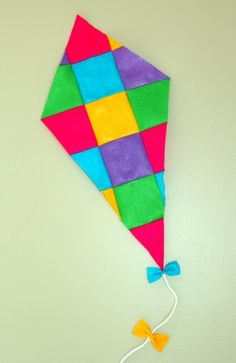 Felt Patchwork Kite