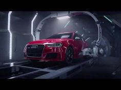 Audi R8 Gives Birth to an RS3 in Disgustingly Interesting Ad - Video - autoevolution for Mobile