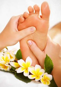 Looking for a way to pamper or reward yourself for keeping up with your exercise and healthy lifestyle?  Rather than using food, try a Reflexology session.  Great for relaxation, foot pain, etc.  Once you try it, you'll be hooked!