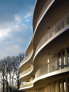 Apartment Ter Huivra, Joure   Claus en Kaan Architecten; Photo: Christian Richters   Archinect