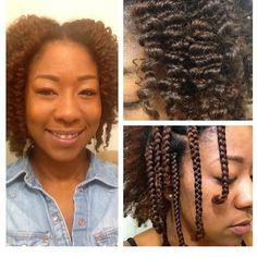 Braidout. To learn how to grow your hair longer click here - http://blackhair.cc/1jSY2ux