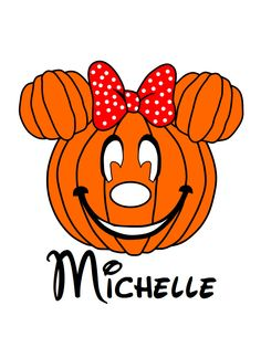 Mommy's Lil Pumpkin Halloween Minnie Mouse Head Printable Digital Iron On Transfer Clip Art DIY Tshirts Disney Halloween, Cute Halloween, Halloween Pumpkins, Halloween Crafts, Halloween 2020, Minnie Mouse Pumpkin, Mickey Minnie Mouse, Disney Iron On, Iron On Transfer