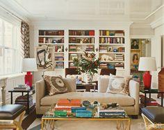 Philip Gorrivan's New York living room