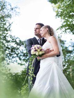 Hochzeitsfoto im Grünen, irgendwo bei Hagen / NRW ;)