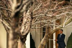 President Obama leaving the White House this morning, bound for Alabama