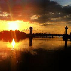 Le pont du Port-à-l'Anglais via http://instagram.com/ronnyparis