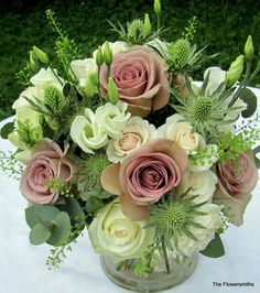 natural and rustic www.theflowersmiths.co.uk                                                                                                                                                                                 More