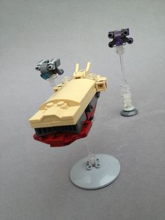 https://flic.kr/p/omMoXA | Hauler Stalking | Slow-moving targets are easy prey for the Tarasque-class Fighter. In the multitude of border wars and conflicts in the Outer Rim, groups of the 'tara are often dropped in busy shipping lanes and decimate unprotected merchants and traders.