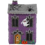 ThreadABead No 13 Ghoul Street 3D Halloween Haunted House Ornament Pattern
