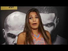 Julianna Pena and Derrick Lewis on that 'awkward drive' to media day