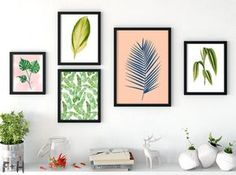 25 Free Tropical Leaf Prints