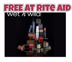 Free at Rite Aid This week: Wild Cosmetics + Coupons - http://couponsdowork.com/rite-aid-weekly-ad/rite-aid-wet-n-wild-32016/