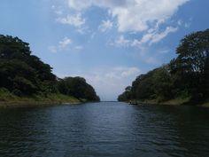 The canal, Lake Yojoa, Honduras