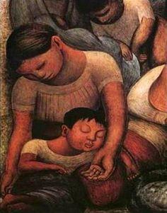 La noche de los pobres by: Diego Rivera 1886-1957
