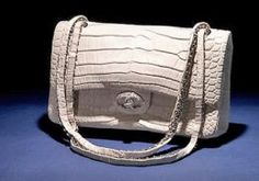 """MOST EXPENSIVE BAGS #3 : The Chanel """"Diamond Forever"""" Classic Handbag - $261,000, i´ll have 2 then!!"""
