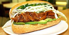 Reminiscent of a Vietnamese sub, this Pulled Jackfruit Sandwich will leaving you wanting seconds. Sweet and savory, we've found the perfect seasoning to make the jackfruit the perfect substitute for this filling and healthy plant-based meal. Amp up the heat with a few extra sliced up jalapenos!