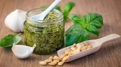 Pesto 'contains more salt than burgers'  ||  Consensus Action on Salt and Health says two products are 30% saltier than seawater. http://www.bbc.co.uk/news/uk-41493440