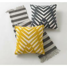 DwellStudio Osa Mustard Decorative Pillow 20X20