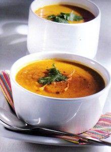 velouté de carottes au curry WW