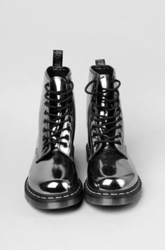 Metallic Doc Martins