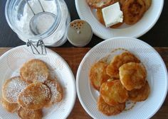 """'The Strory' for Greek pancakes, """"Lagites""""! Greek Recipes, Crepes, Pancakes, French Toast, Sweets, Breakfast, Food, Morning Coffee, Gummi Candy"""