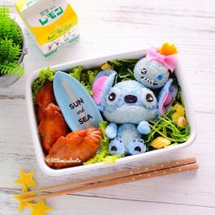 Lilo and Stitch Bento Box