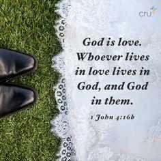 1 John 4:16b