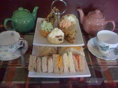 Try High Tea at Ma Belle's Cafe in Dartmouth, Nova Scotia.