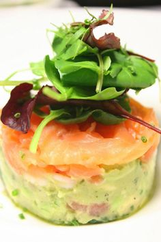 Smoke Salmon, Norwegian Shrimp and Avocado Salada - courtesy of @Holly Engstrom Hotel, South Africa