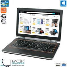 Dell Latitude E6320 Intel i5 4GB RAM 320GB HDD DVD-RW VGA HDMI Win10 Dell Laptops, Dell Latitude, Card Reader, Sd Card, Hdd, Windows 10, Mini, Korea