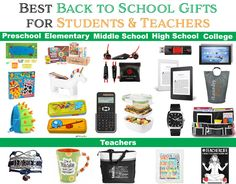 Best Back to School Gifts for Students and Teachers - California Unpublished Back To School Gifts For Teachers, Back To School Hacks, Back To School Supplies, School Fun, Gifts For Kids, High School, Superhero Teacher, Student Teacher Gifts, Handmade Gifts For Him