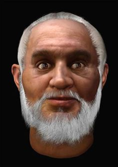 """10 Facial Reconstructions of Famous Historical Figures--The Real """"Saint Nick."""" Santa was black too!! I love it."""