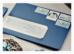 beautiful envelope