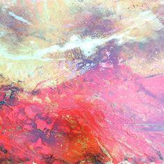 One of the new pieces available next year through the @curiousduke #art #artist #abstractart #abstractpainting #abstraction #abstractart #buyart #black #coffee #contemporaryart #design #hot #hoxton #interiordesign #landscape #modernart #newart #painting #red #ochre #orange #texture #shoreditch #steel #sussex