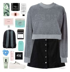 """""""ICE COLD"""" by elainesabine ❤ liked on Polyvore featuring H&M, Chicsense, MSGM, Mr.ace Homme, Pangmama, philosophy, Tiffany & Co., Christian Dior, Clinique and Prada"""