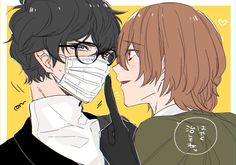 Persona 5 Goro, Persona Q, Persona 5 Anime, Persona 5 Joker, Goro Akechi, Akira Kurusu, Light Of My Life, Haha, Comics