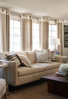 Interior design by Kelly Keiser Living room  beach house  Better Homes & Gardens San Francisco neutral living room  http://kellykeisersplendidinteriors.com/