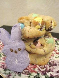 cadbury mini egg cookies from cupcakes & couture