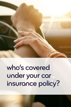Find out if your family, best friend, boyfriend, or girlfriend is covered under your car insurance policy. Insurance Humor, Best Car Insurance, Health Insurance, Home Insurance, Insurance Marketing, Money Tips, Best Friends, Medical, Learning