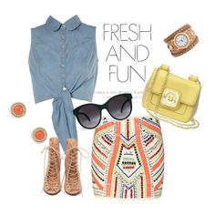 BBQ Outfit, created by ericasimage on Polyvore