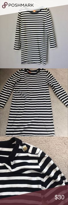 Submit ANY Offer!Joe Fresh Blue Striped Dress Great Condition! Shows little to no wear Joe Fresh Dresses