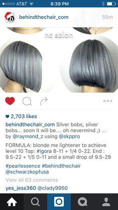 Green Hair, Purple Hair, Hair Color 2017, Hair Color Formulas, Transitioning Hairstyles, Bright Hair Colors, Silver Grey Hair, Platinum Hair, Schwarzkopf Hair