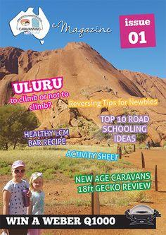 E-Magazine Adventure Awaits E Magazine, Digital Magazine, Stuff To Do, Things To Do, Healthy Travel Snacks, Free Travel, Caravans, Adventure Awaits, New Age