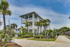 """Blue Mountain Beach """"Meant to Sea"""" 401 Blue Mountain Road Town Names, Santa Rosa Beach, Beach Road, Beach Vacation Rentals, Blue Mountain, Guest Bedrooms, Private Pool, Florida, Comfort Style"""